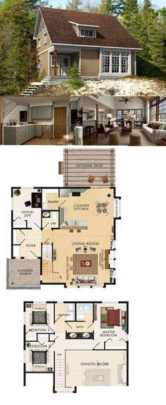Beaver Homes & Cottages Bolero 1462 sq ft ecohouselayout