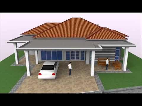 Pelan Rumah 4 Bilik 3d Berguna Cadangan Rekabentuk Banglo 1 Tingkat 4 Bilik Di Kulim Kedah