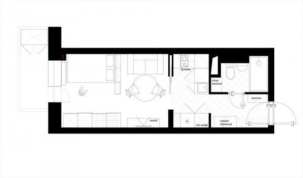 Designing For Super Small Spaces 5 Micro Apartments DESIGN pact Flats Micro Units Studios Pinterest