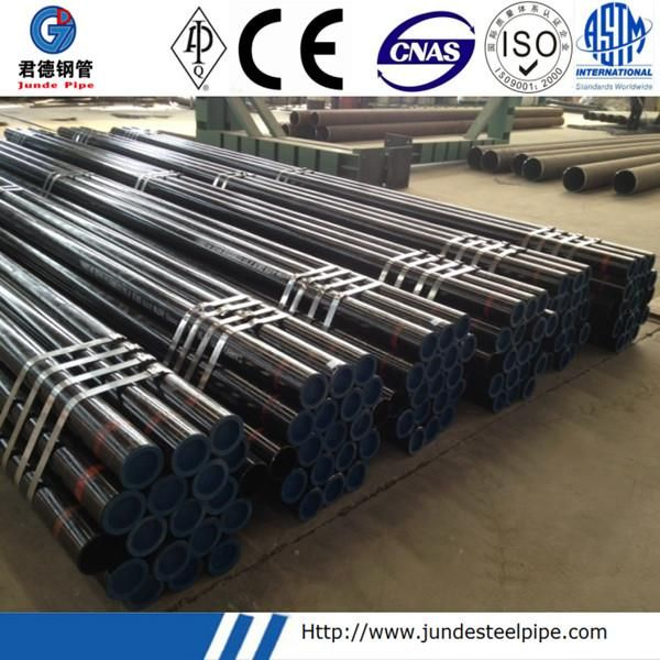 Sch40 Sch 80 Jadual 40 Jadual80 STD Pembungkusan dan Pengilang Pipa Lembut Seamless Kilang China JUNDE PIPE