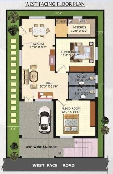 27 45 house plan India