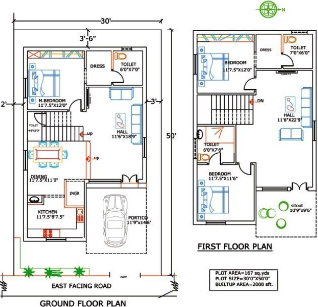 Pelan Rumah 40 X 70 Terhebat House Plans India Google Search Srinivas In 2018