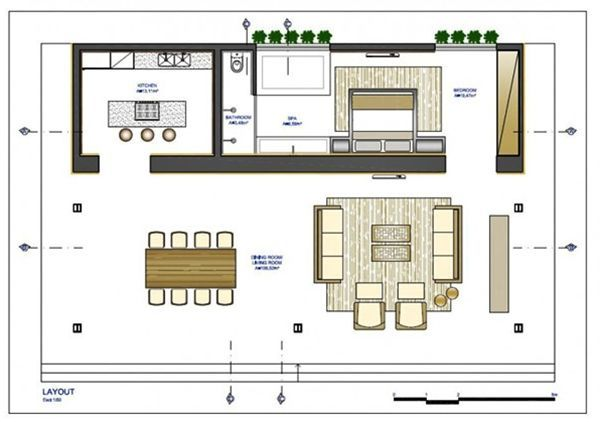 Pelan Rumah 40×30 Baik Modern House Plan Loft Bauhaus the Sims 3 Pinterest
