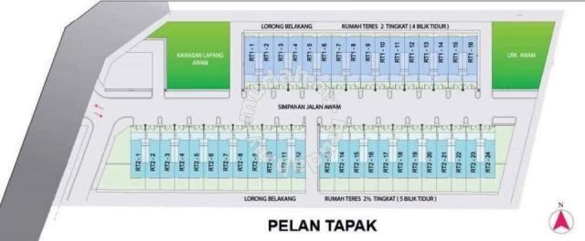 Pelan Rumah 5 Bilik 3 Bilik Air Power Rumah Baru Bangi Houses New Property In Bangi Selangor