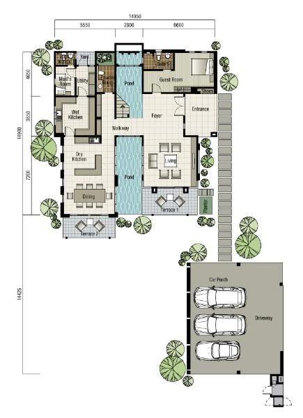 Pelan Rumah 5 Bilik Ala Resort Terhebat Rumah Design Laman Deko Yg Tercantik Hobi Koleksi