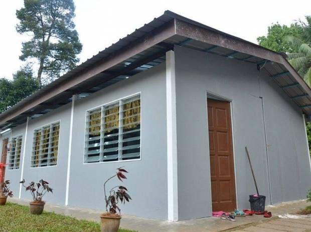 Rumah 600 kaki persegi semurah RM20 000 boleh siap tak sampai sebulan