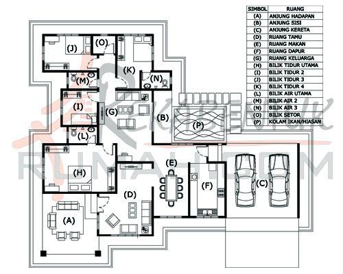 Pelan Rumah 6 Bilik Tidur Bermanfaat Design 4 Archives Page 2 Of Rekabentuk