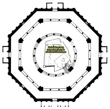 607px Dehio 10 Dome of the Rock Floor plan drilled