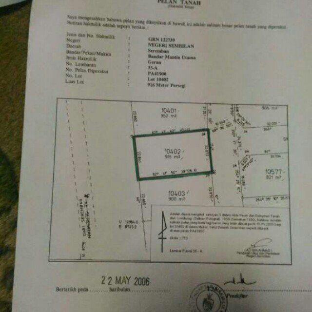Pelan Rumah 800 Kaki Persegi Meletup Tanah Bandar Mantin Utama Seremban Property Untuk Dijual Di Carousell
