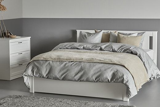 "IKEA BJ–RKSN""S Double beds"
