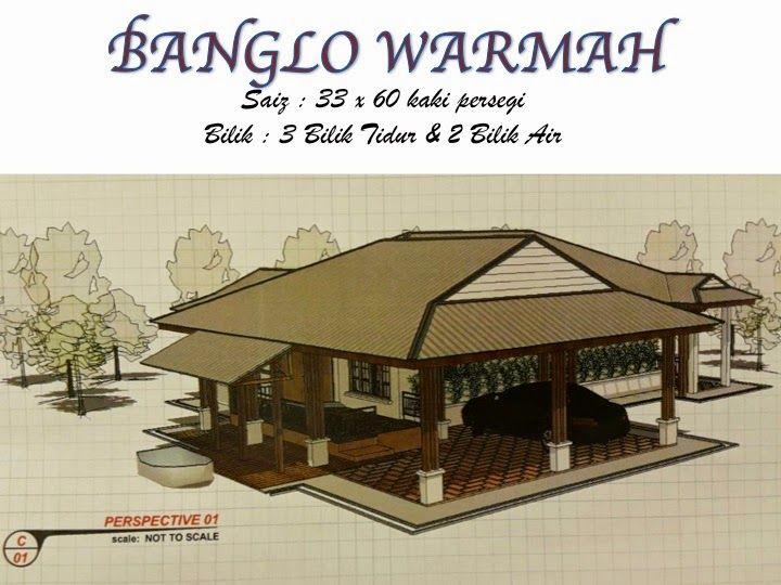 Pelan Rumah Banglo 1 Tingkat 6 Bilik Bernilai Banglo Mampu Milik Rm200k Kebawah