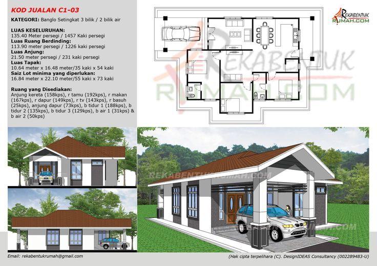 Pelan Rumah Banglo 10 Bilik Terhebat Ibs Focus Construction Ibsfocus No Pinterest