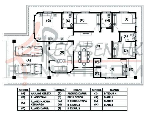 Pelan Rumah Banglo 2 Tingkat 4 Bilik Berguna Design Rumah 4 Bilik Archives Page 2 Of 2 Rekabentuk
