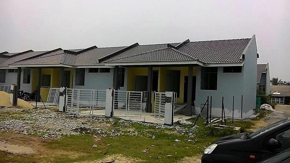 Pelan Rumah Banglo 2 Tingkat 4 Bilik Terbaik Rumah Teres Setingkat Taman Sri Naim Bandar Baru Lubok Jong Pasir