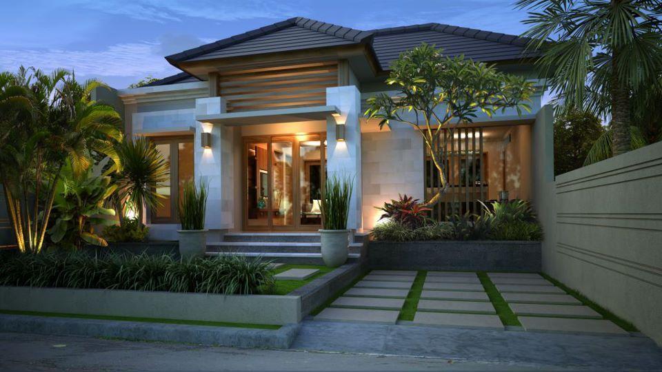 Gaya Desain Rumah Bali Elegan Gambar 1