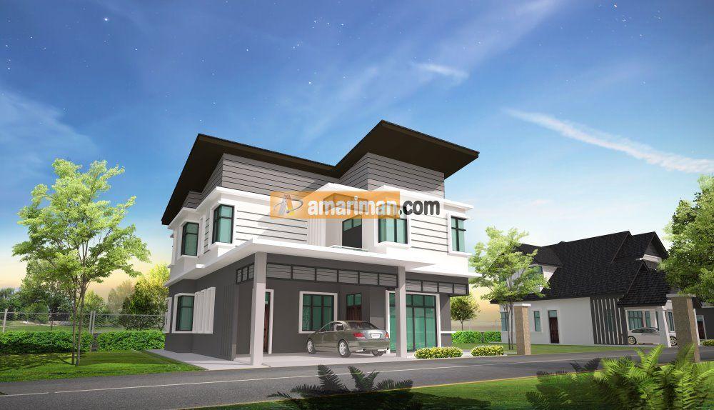 Pelan Rumah Banglo 2 Tingkat Modern Baik Pelan Rumah Banglo Setingkat Ala Resort — Bradva Docefo