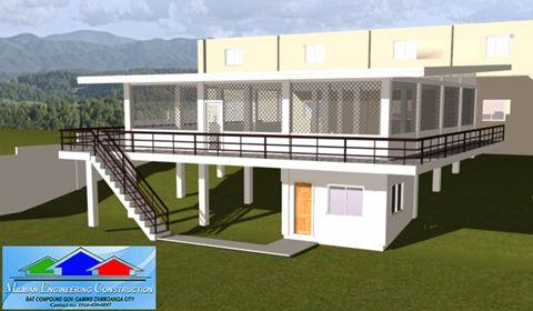 Pelan Rumah Banglo 2 Tingkat Modern Power Milman Engineering Construction Pelan