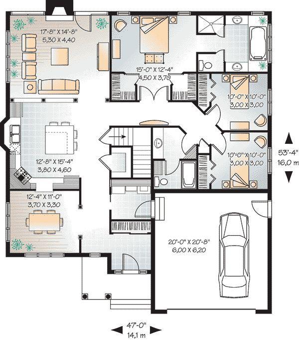Pelan Rumah Banglo 30 X 40 Baik Best 243 Arquitetura E Constru§£o Images On Pinterest