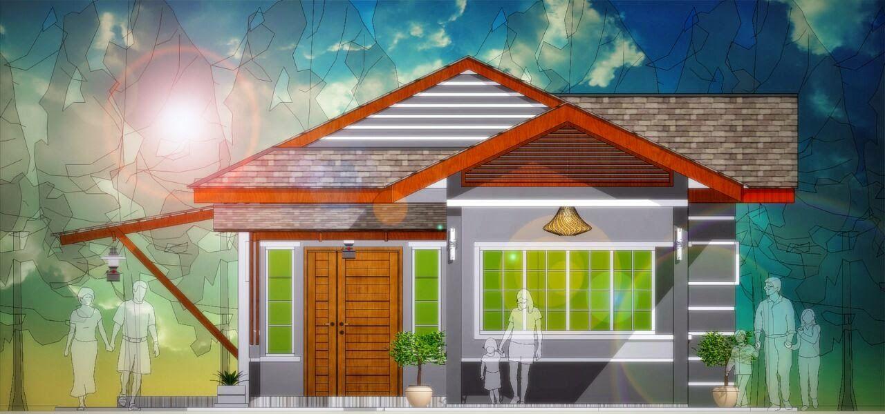 Pelan Rumah Banglo 6 Bilik Hebat Banglo Mampu Milik Rm200k Kebawah