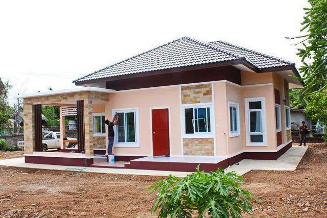 Tropical Style e Storey House Design