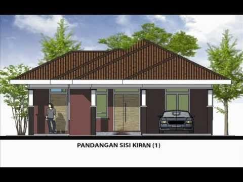Pelan Rumah Banglo Bernilai Pelan Rumah A1 09 Pelan Rumah Banglo Setingkat 3 Bilik 1bilik Air