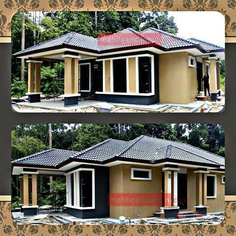 Pelan Rumah Banglo Mewah 1 Tingkat Baik Bina Rumah Banglo atas Tanah Sendiri
