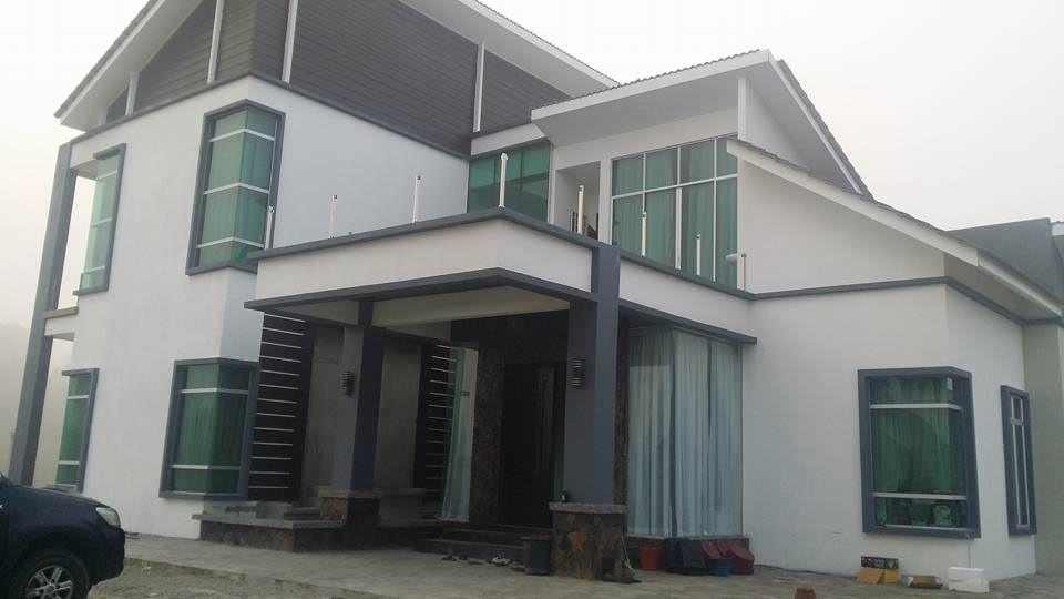 Projek Banglo Mewah Dua Tingkat setengah PT115 Kg kor Kota Bharu