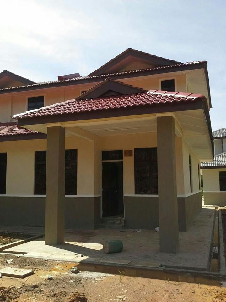 Pelan Rumah Banglo Mewah 1 Tingkat Terhebat Semi D Setingkat Setengah Berdekatan Bandar Baru Gua Musang Kg Batu
