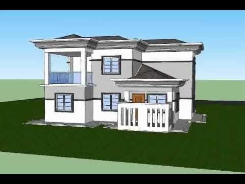 Pelan Rumah Banglo Mewah Baik Pelan Rumah C2 05 Pelan Rumah Banglo 2 Tingkat 3bilik 2bilik Air