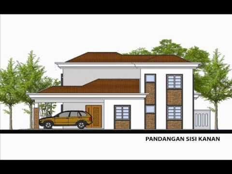 Pelan Rumah Banglo Mewah Meletup Pelan Rumah C2 06 Pelan Rumah Banglo 2 Tingkat 4bilik 3bilik Air