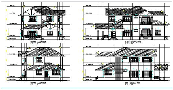 Pelan Rumah Banglo Setingkat 3 Bilik Baik Plan Rumah Banglo