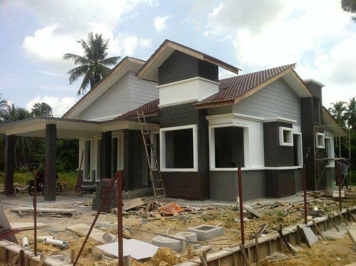 Gambar Rumah Banglo Setingkat Inspirasi Dekorasi Rumah