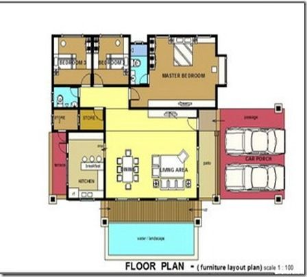 Perkhidmatan Pelukis Pelan Rumah Setingkat · banglo 025 floorpamir[1]