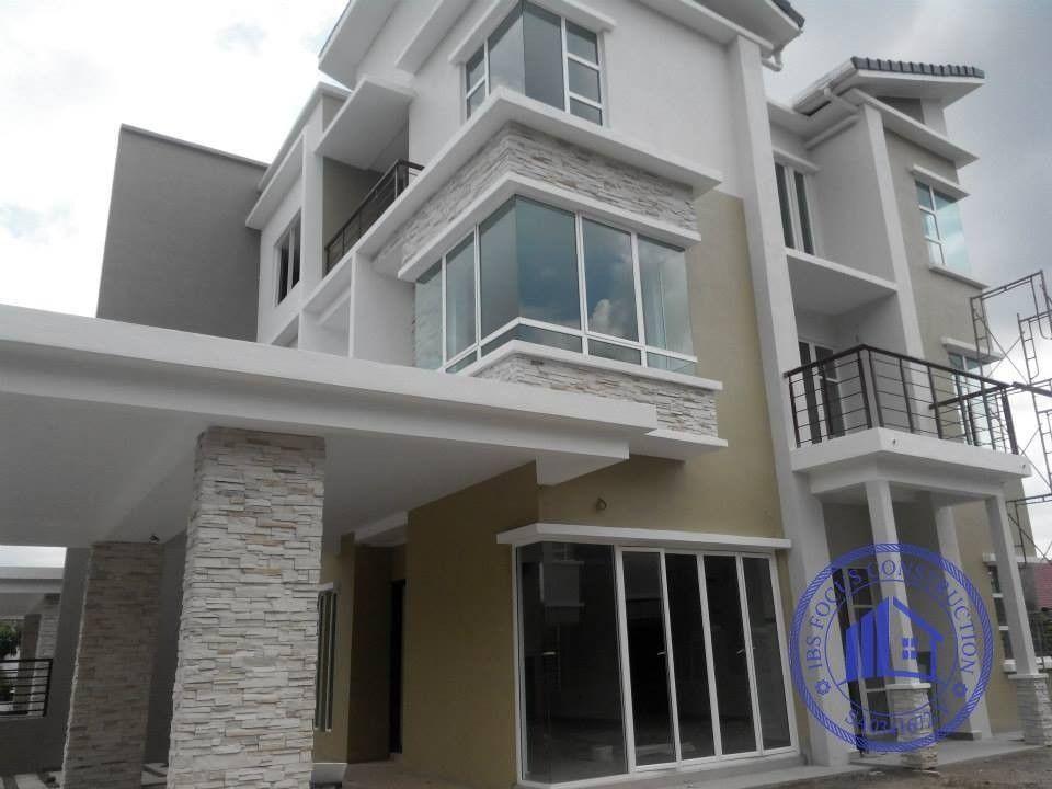 Pelan Rumah Banglo Setingkat Ala Inggeris Baik Rumah Ibs