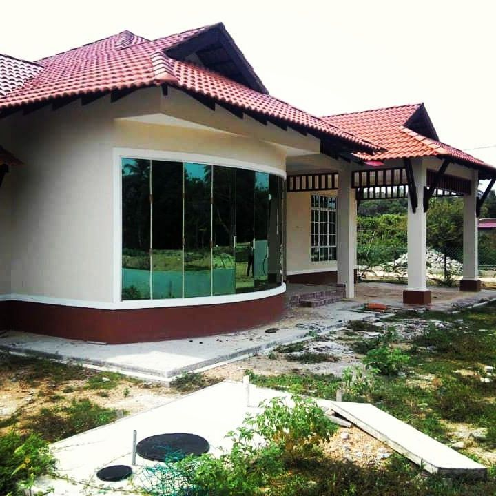 Rumah Banglo Siap Di hadapan kem tentera Kok lanas Kota