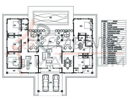 Design Rumah 4 Bilik Archives Rekabentuk Pelan Rumah D1 13 Banglo Setingkat