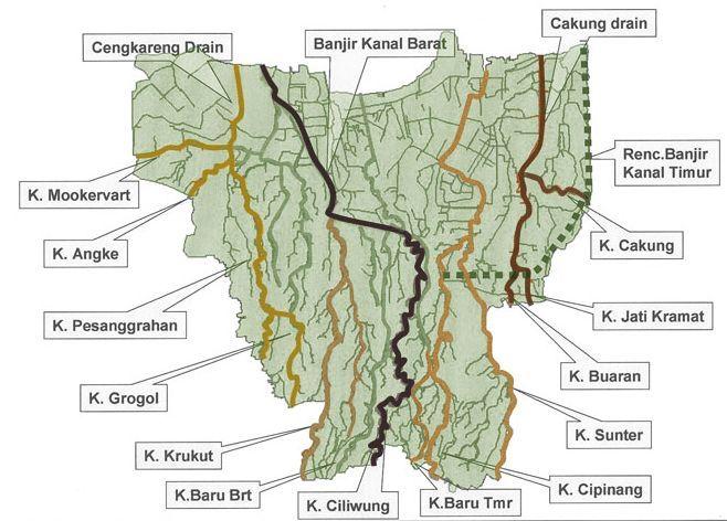 Pelan Rumah Banjir Menarik Kanal Banjir Jakarta Bahasa Indonesia Ensiklopedia Bebas