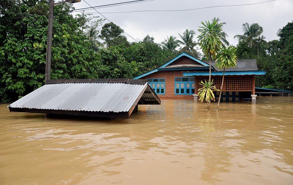 Pelan Rumah Bantuan Banjir Power today Terengganu January 2017