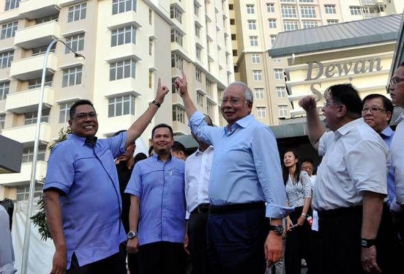 Pelan Rumah Bantuan Kerajaan Bernilai Kerajaan Sedia Ppa1m Untuk Kesejahteraan Penjawat Awam Pm Najib