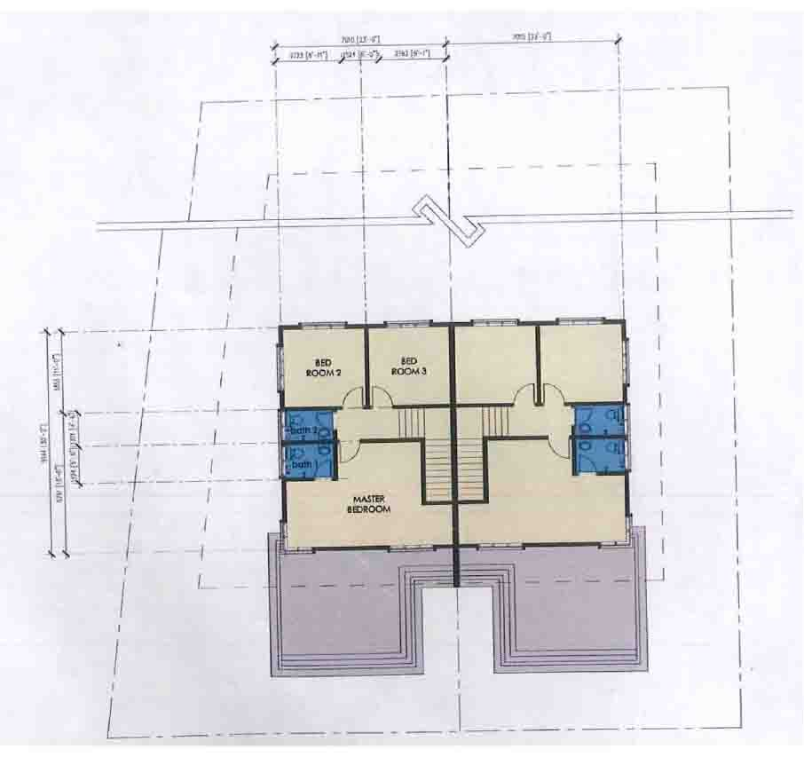 Pelan Rumah Berkembar Baik Jia Eu Group Rumah Berkembar 2 Tingkat 23 X 30 Pelan Lantai