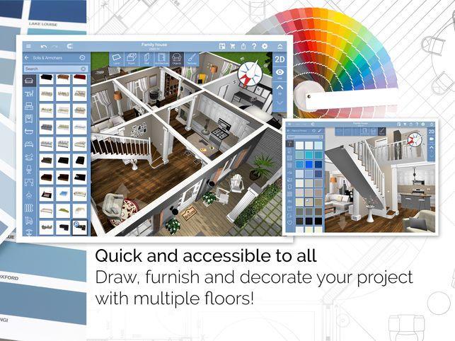 Pelan Rumah Bertiang Hebat Home Design 3d On the App Store