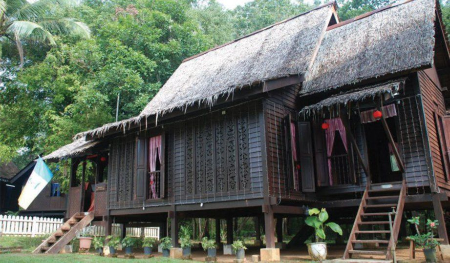 Pelan Rumah Bertiang Terhebat Rumah Kutai Tiang Bersusun