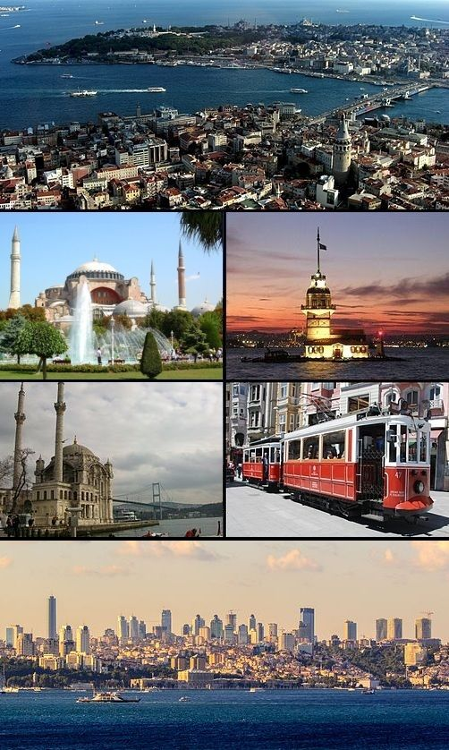 Istanbul collage 5j
