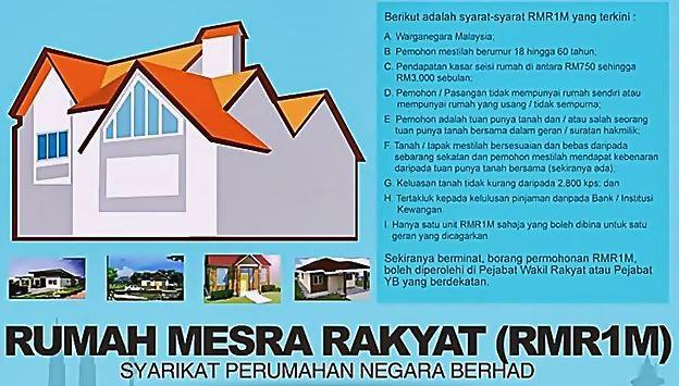 Permohonan Rumah Mesra Rakyat RMR1M