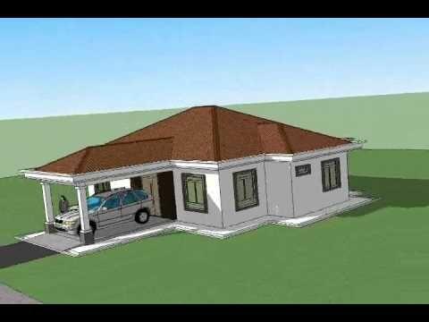 Pelan Rumah B1 11 Pelan Rumah Banglo Setingkat 3 Bilik 2 Bilik Air