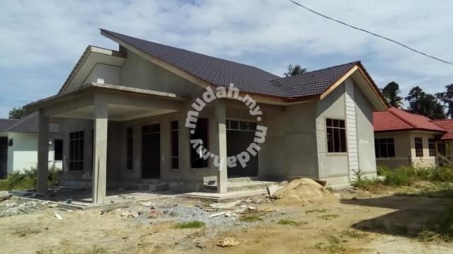 Pelan Rumah Bungalow Setingkat Bernilai Rumah Banglo Hampir Siap Dekat Taman Uda 500m Dari Kfc Baung