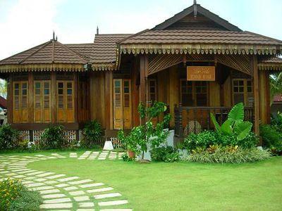 Pelan Rumah Desa Menarik Pelan Rumah Banglo Setingkat Reka Bentuk Moden