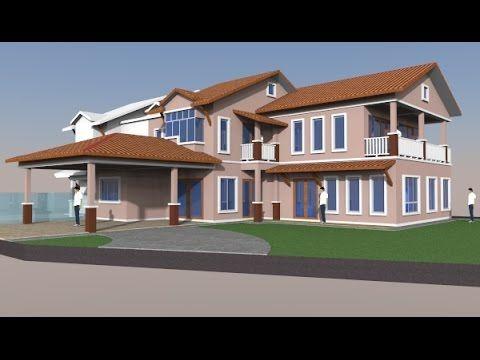 Pelan Rumah Dua Tingkat Kos Rendah Bermanfaat Architectural Idea Consultant