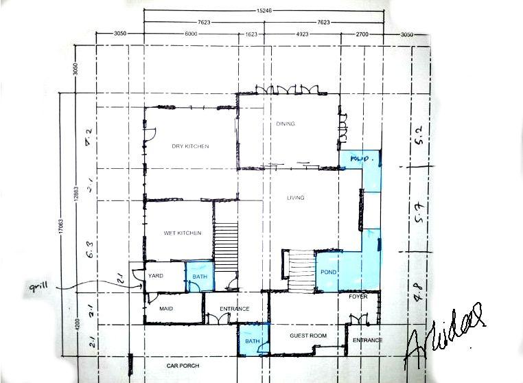 Pelan Rumah Dua Tingkat Kos Rendah Terhebat Architectural Idea Consultant