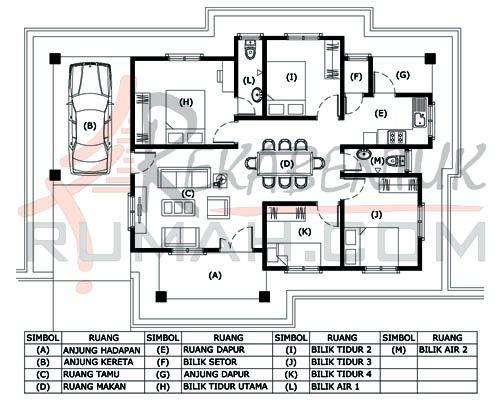 Pelan Rumah Dua Tingkat Terkini Meletup Design Rumah 4 Bilik Archives Page 2 Of 2 Rekabentuk